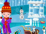Play Baby Nora Frozen Room Cleaning