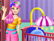 Play Baby Sister Room Deco