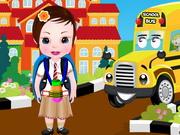 Play Baby Sophia Back To School