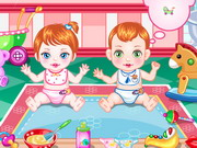 Play Baby Twin Trouble