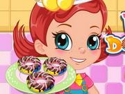 Play Baked Rainbow Doughnuts