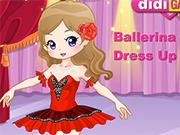 Play Ballerina Girl Dress Up