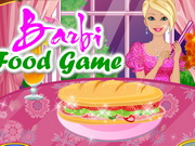 Play Barbi Food Game