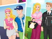 Play Barbie And Ken Fashion Couple