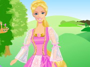 Play Barbie as Rapunzel