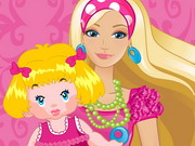 Play Barbie Baby Sitter