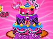 Play Barbie Cake Deco Game