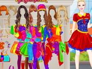 Play Barbie College Student Dressup
