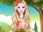 Play Barbie Flowery Girl