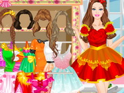 Play Barbie Go To Party