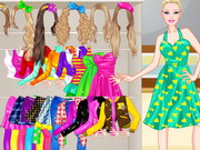 Play Barbie High School Dressup
