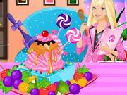 Play Barbie Ice Cream Decorating