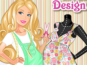 Play Barbie Maternity Design Studio