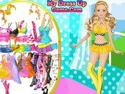 Play Barbie Motor Model Dress Up