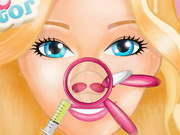 Play Barbie Nose Doctor