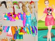 Play Barbie Picnic Princess Dressup