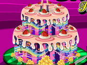Play Barbie Popstar Cake