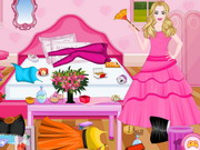 Barbie Princess Room Cleaning