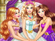 Play Barbie Princess Wedding