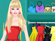 Play Barbie Prom Dress Up