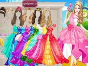 Play Barbie Prom Princess Dress Up