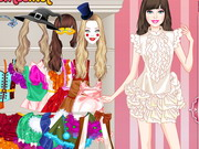 Play Barbie Puppet Princess Dress Up