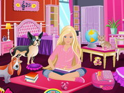 Play Barbie's Comfy Bedroom Decor