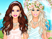Play Barbie's Tropical Wedding