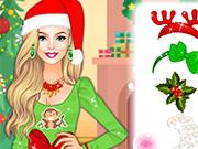 Play Barbie Santas Helper