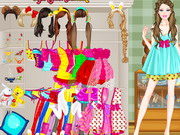 Play Barbie Sleepover Dressup