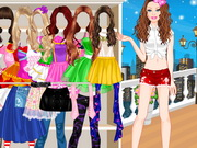 Play Barbie Summer Dress Up
