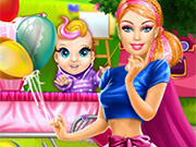 Play Barbie Superhero Mommy
