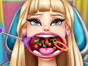 Play Barbie Throat Doctor