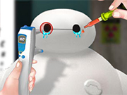 Play Baymax Eye Doctor
