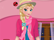 Play Beauty Elsa Dress Up
