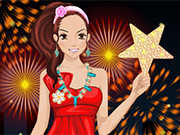 Play Blissful New Year Dressup