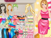 Play Candy Barbie dress up