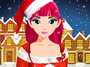 Play Christmas Girl Makeover
