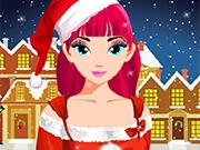 Play Christmas Girl Makeover