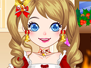 Play Christmas Lolita Dressup