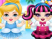 Play Cinderella x Draculaura Babies