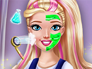 Play College Princess Makeover