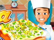 Play Cooking Bread Pizza