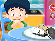Play Cooking Oreo Cheese Cake