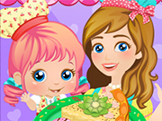 Play Cooking with Mommy