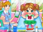 Play Cute Baby Cold Doctor