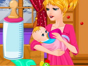 Play Cute Baby Feeding