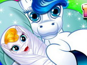 Play Cute Baby Pony Birth