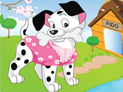 Play Cute Puppy Dress Up
