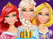 Play Disney Princess Makeover Salon